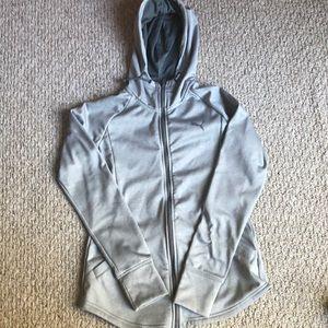 full zip puma sweatshirt w/ hood!!